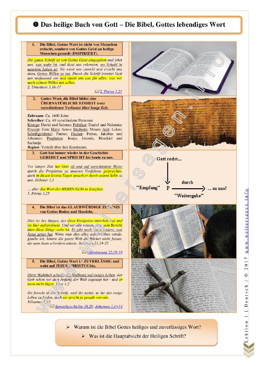 bibel ewiges leben